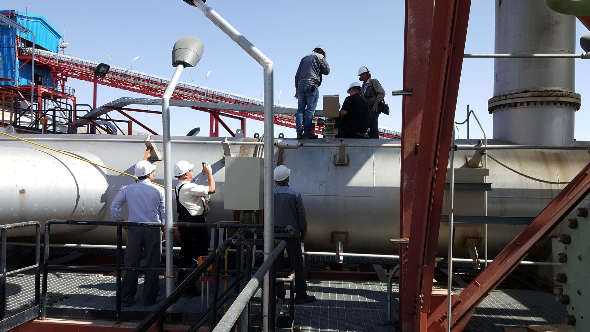 Messa in servizio di analizzatori di gas